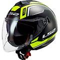 LS2 open face helmets